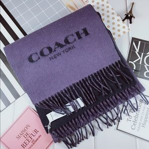 Authentic Coach wool scarf